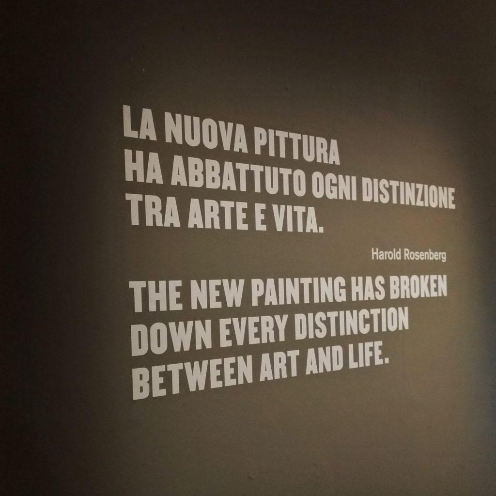 Mostra Pollock - Chiara Sicuriello - Arte e benessere